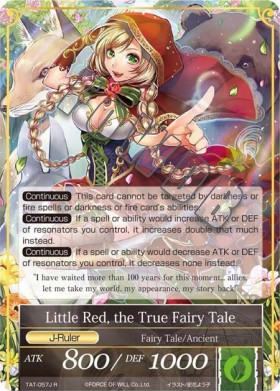 Little Red, the True Fairy Tale